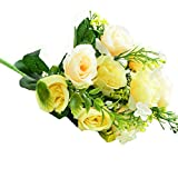 Lookatool Tulip Artificial Flower Latex Real Touch Bridal Wedding Bouquet Home Decor,10pcs TH-9