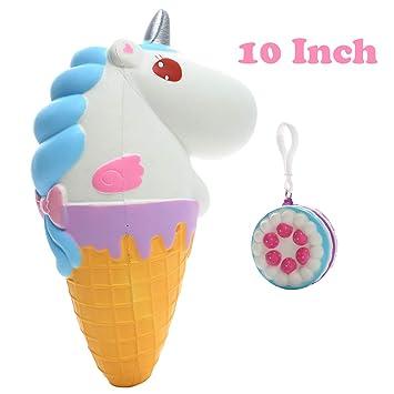 Amazon.com: Sinofun - Llavero con diseño de unicornio ...