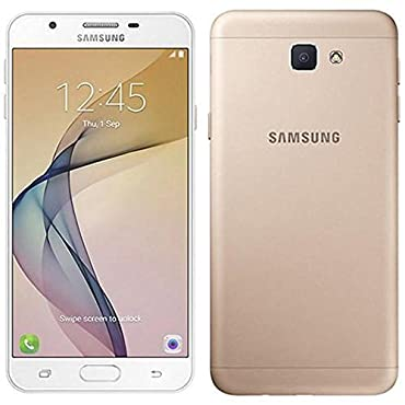Samsung Galaxy J7 Prime (32GB) G610F/DS 5.5 Dual SIM Unlocked Phone with Finger Print Sensor (Gold)