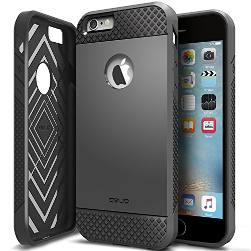 iPhone 6/6S Plus Case, OBLIQ [Flex Pro][Black] Thin Slim Fit Armor Sturdy Bumper TPU Rubber Soft Flexible Shock Scratch Resist Protective Case for iPhone 6s Plus & iPhone 6 Plus
