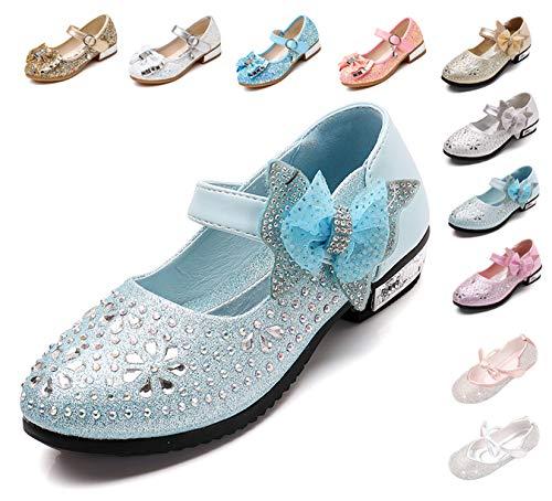 Kikiz Little Girl's Princess Dress Shoes Kids Mary Jane 2 M US Little -