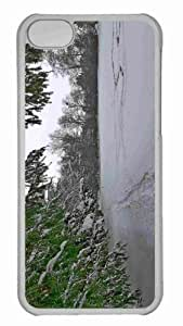 Customized iphone 5C PC Transparent Case - Winter Im Schlosspark Paffendorf 4 Personalized Cover by mcsharks