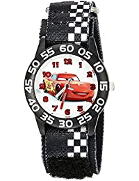 Kids' W002425 Cars Time Teacher Analog Display Analog Quartz Black Watch