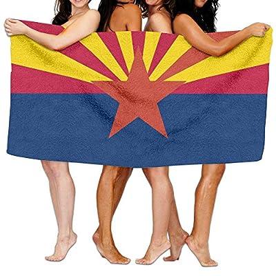RR Pure Arizona Flag Spa Wrap Bath Shower Towel For Pools,gyms,beaches