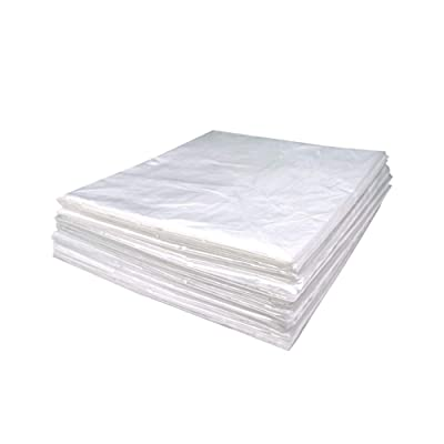 """Wedigout Plastic Sheeting for Body Wrap Used Inside a Far Infrared Sauna Blanket 47""""x82"""" PVC Pack of 50 : Garden & Outdoor"""