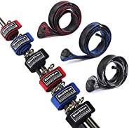 Fishing Rod Belts Ties Stretchy Magic Bait Casting Spinning Rod Straps Holders