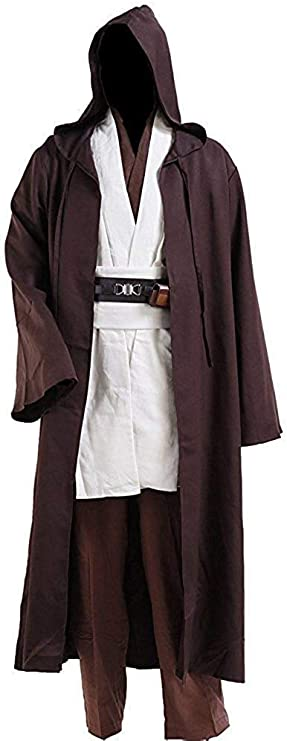 "1//6 12"" Inch Jedi Knight Master Tan Brown Tunic Shirt Star Wars Figure Clothing"