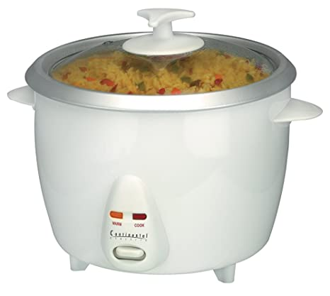 cf4eecbdf Amazon.com  Continental Electric CE23211 6-Cup Rice Cooker and Steamer   Barbecue Tool Sets  Kitchen   Dining