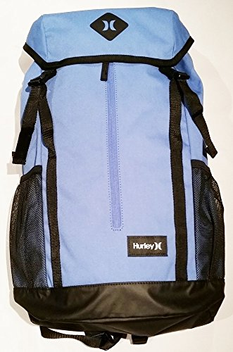 Hurley Daley Backpack (Light Game Royal/Black/White) Travel (Hurley Black Backpack)