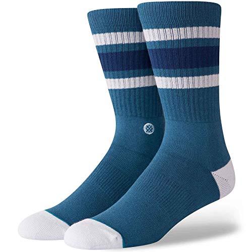 Stance Men's Boyd 4 Socks,Large,Indigo