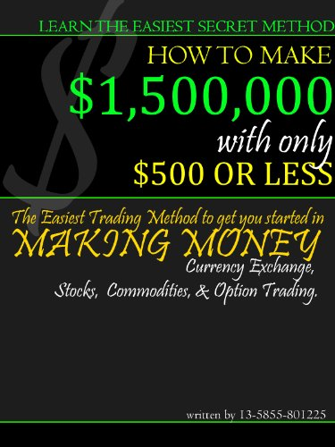 Learn How to make $1.5 million with $500 using Simple Wave Principles