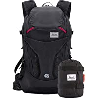 CTARCROW Backpack Travel Daypack Floding Waterproof for Hiking Climbing Camping Mountaineering Color : Red