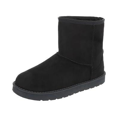 Ital Design Stiefel & Boots Kinderschuhe Klassischer Stiefel Mädchen Stiefeletten