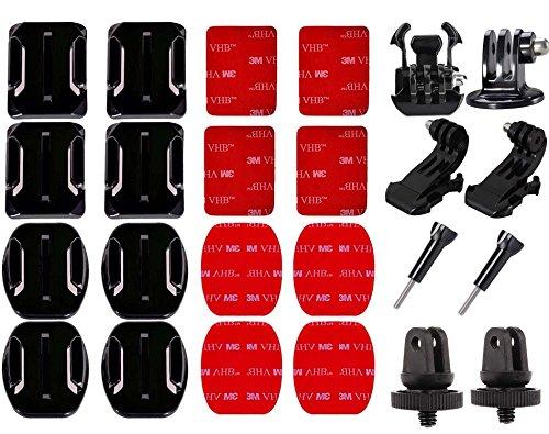 SUNMENCO Action Camera Accessory kits 3M Adhesive Pads VHB S