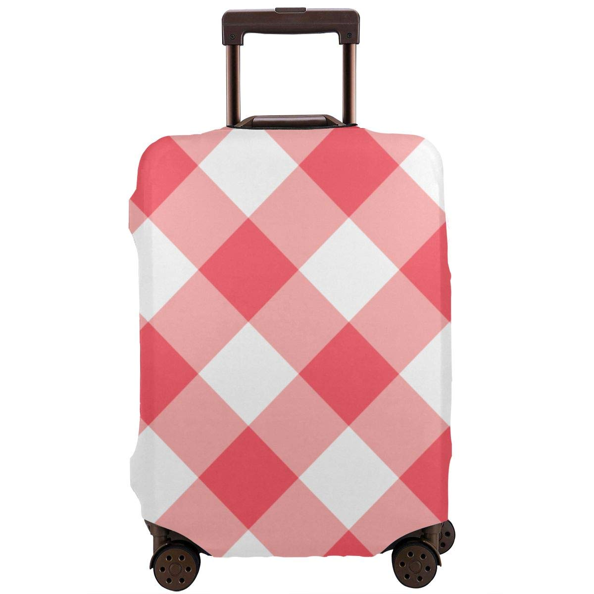 Shabby Chic Rose Patterns3 XL Luggage Cover Elastic Travel Suitcase Protector Fits 18-32 Inch