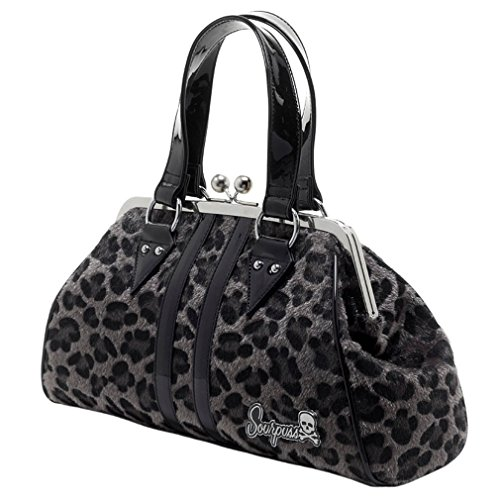 Sourpuss Top Bag Grey Women's Handle GREY Women's standard Sourpuss size RndtXtpqT