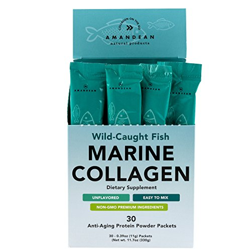 Amandean Marine Collagen Peptides Stick...