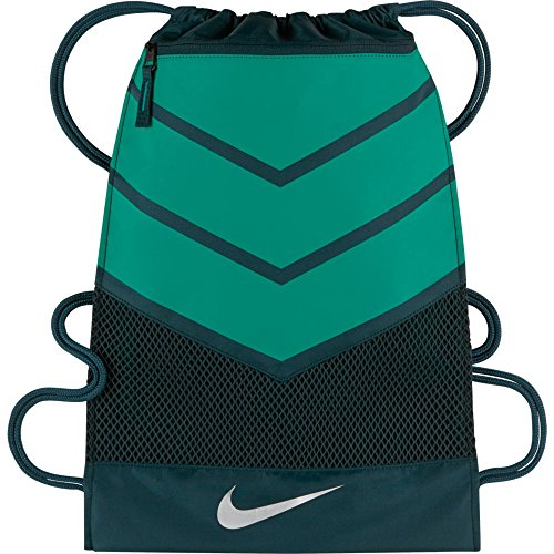 Nike Vapor Drawstring Bag (Black/Teal)