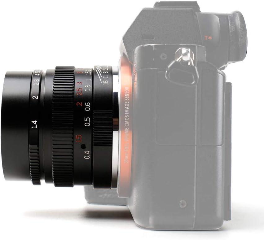 Lenses Camera Lenses 7artisans 35mm F1.4 Full Format Lens for Sony ...