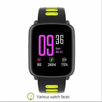Reloj inteligente con Pulsómetro Función Anti-perdida,relojes ...