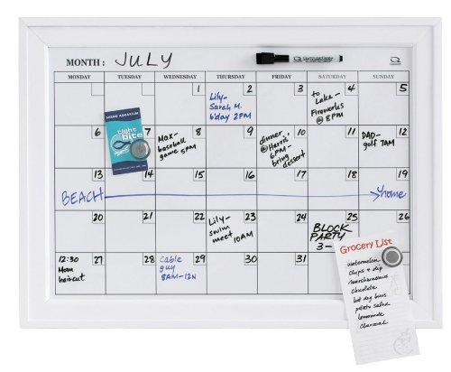 Amazon Quartet Home Decor Dry Erase Calendar Bulletin Board