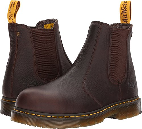 - Dr. Martens Work Men's Fellside Steel Toe SD Chelsea Bark 8 D UK D (M)