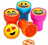1.38'' EMOTICON STAMPERS, Case of 24
