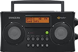 Sangean Hdr-16 Hd Radiofm-stereoam Portable Radio