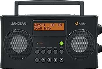 Sangean Hdr-16 Hd Radiofm-stereoam Portable Radio 0