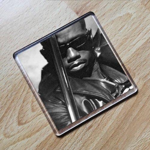 WESLEY SNIPES - Original Art Coaster #js002