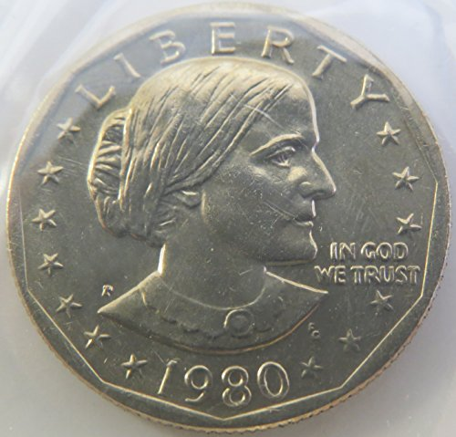 1980 Susan B. Anthony Dollar Choice Uncirculated