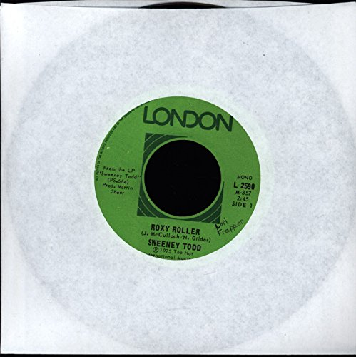 Sweeney Todd - Roxy Roller / The Kilt - Roxy Roller / The Kilt - London Records - L 2590 - Canada - VG+ / N/A - 7