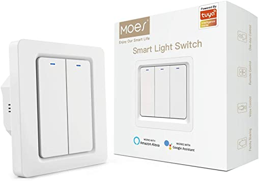 Tuya Smart Life ZigBee Smart Haus Wireless Batterie Schalter 3Gang Fernbedienung