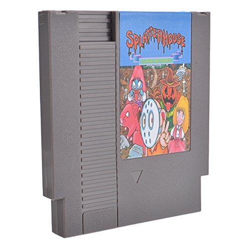 Splatterhouse 72 Pin 8 bit Tarjeta de Juego láser para NES ...