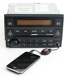 nissan altima 05 06 bose radio am fm 6 disc cd. Black Bedroom Furniture Sets. Home Design Ideas