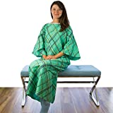 Green IV Hospital Gown/IV Hospital Patient Gown