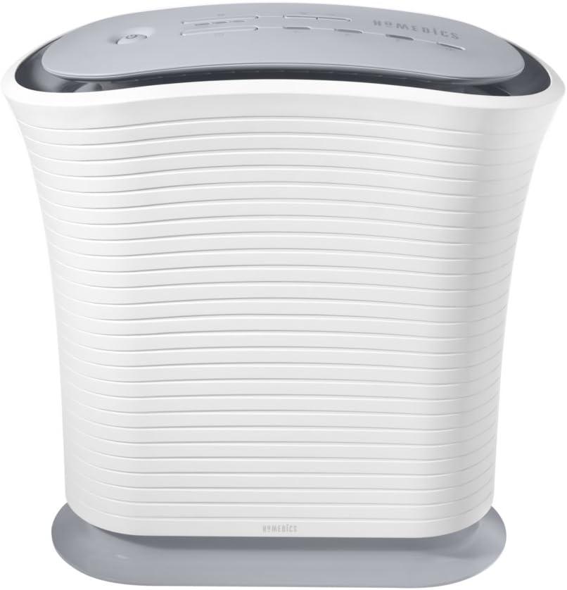 HoMedics True HEPA Air Purifier traps Smoke, Dust, Mold, Odor in Home