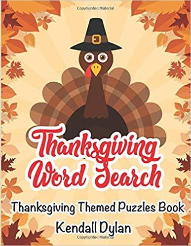 thanksgiving word search thanksgiving themed puzzles book