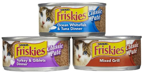 Cheap Purina Friskies Classic Pate Cat Food Variety Pack 24-5.5 oz. Cans