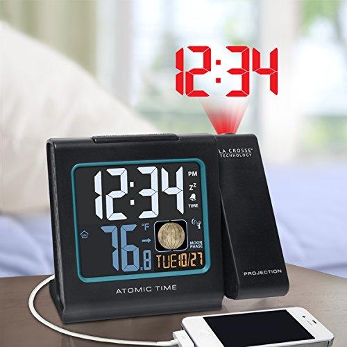 La Technology Color Clock Black