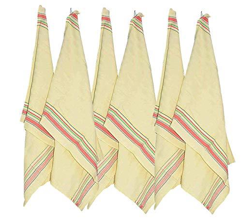 Kitchen Towels (Pack Of 6)-100% Premium Cotton