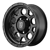 XD Series by KMC Wheels XD122 Enduro Matte Black Wheel (16x9''/5x139.7mm, -12mm offset)