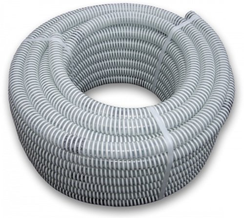 Bradas Layflat SAF32 Suction Hose Pressure Hose Ali Flex – New 25 m Roll 7 Bar Diameter 32 mm, white, 40 x 40 x 20 cm 8011963705873