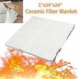 New 24x24x1 Inch Aluminum Silicate High Temperature Insulation Ceramic Fiber Blanket
