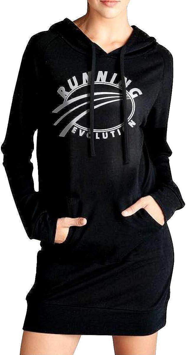 NVWEIYIJW Running Evolution Womens Long Hoodie Womens 100/% Cotton Outwear for