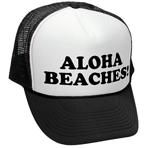 ALOHA BEACHES funny party Trucker