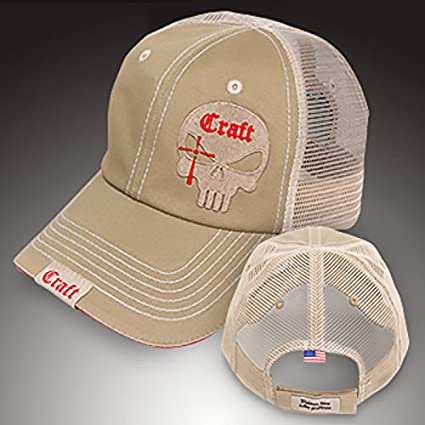 20c9b40760d Amazon.com   Chris Kyle Hat Official Craft International Mesh Khaki  Shooters Cap Adjustable American Sniper   Everything Else