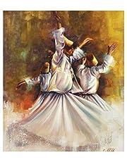 darwish Painting Modern Canvas Tableau -80 cm x 60 cm