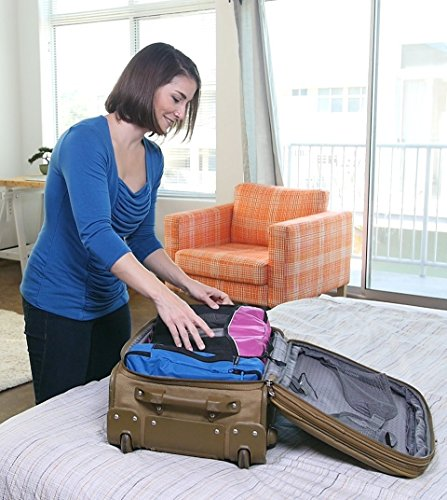 Bago Packing Cubes - Travel Organizer For Luggage - Solitary Moderate Cube... - 51yPWjoB 4L