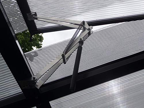 BIBISTORE Solar Auto Ventilation Window Opener with Two Springs for Hothouse Greenhouse Coldframe by BIBISTORE (Image #3)